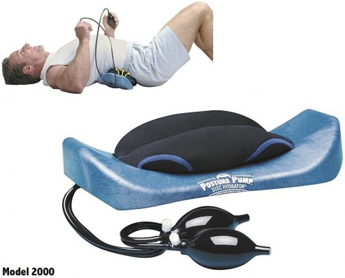 7. POSTURE PUMP Relief for Low Back Pain Elliptical Back Rocker