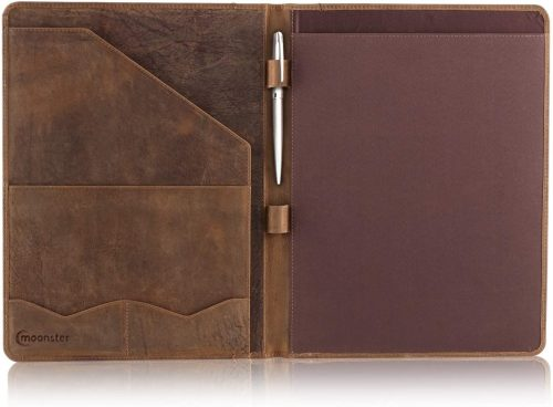 Moonster Leather Padfolio