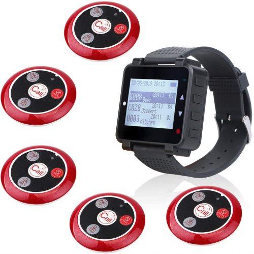 10. Retekess T128 Restaurant Pager System Waiter Customer Calling System