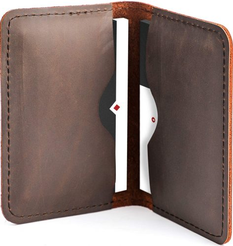 MaxGear Professional Bifold Business Card Case