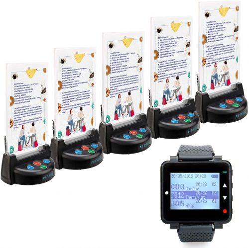 9. Retekess T128 Restaurant Paging System Wireless Waiter Staff Calling