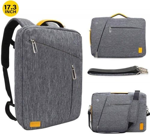 4. 17.3 Inch Convertible Laptop Backpack
