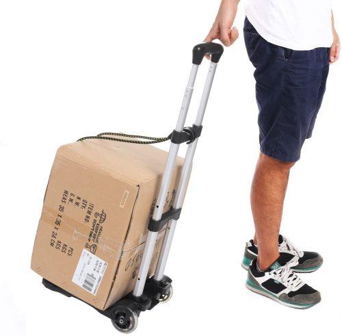 Kemanner Lightweight Folding Hand Truck Portable Luggage Cart   Luggage Trolleys
