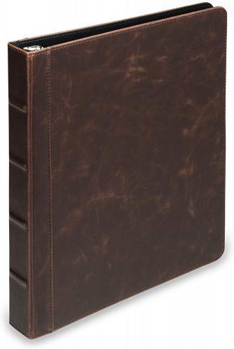 Samsill Vintage Hardback Book 3 Ring Binder