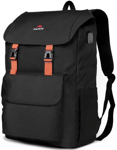 10. MATEIN Travel Laptop Backpack, Large School outdoor Rucksack Backpack