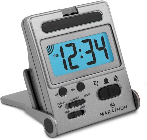 Marathon Basics Travel Alarm Clock