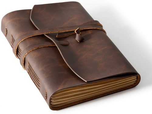 8. Homesure Leather Journal Notebook 5x7 inches