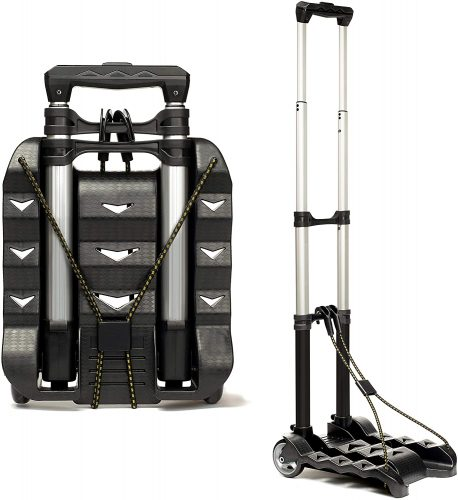 RMS Folding Luggage Cart - Lightweight Aluminum  | Luggage Trolleys