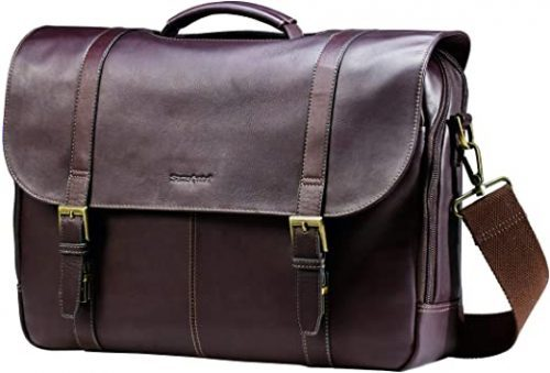 Samsonite Leather Laptop Briefcase
