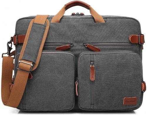 3. CoolBELL Convertible Backpack Messenger Bag Shoulder Bag Laptop