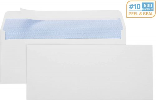 7. Office Deed 500 #10 Envelopes SELF SEAL Business Envelope Windowless