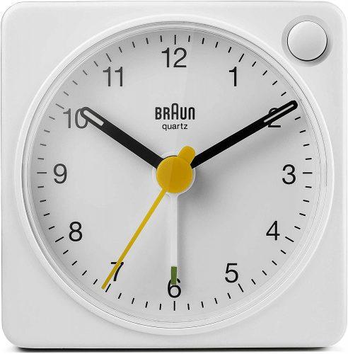 Braun Classic Travel Analogue Alarm Clock