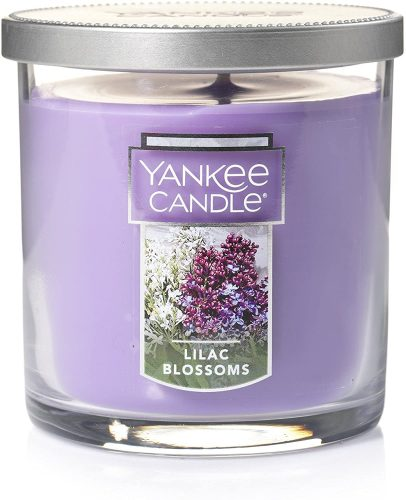 Yankee Candle Small Tumbler Candle, Lilac Blossoms - Air Freshener For Office