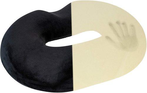 8. Healthy Spirit Donut Tailbone Pillow Hemorrhoid Cushion