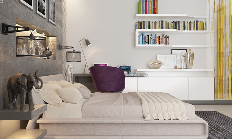 bed bookcases