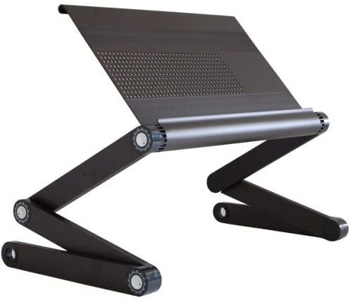 WorkEZ Executive Adjustable Ergonomic- Laptop Stand For Bed