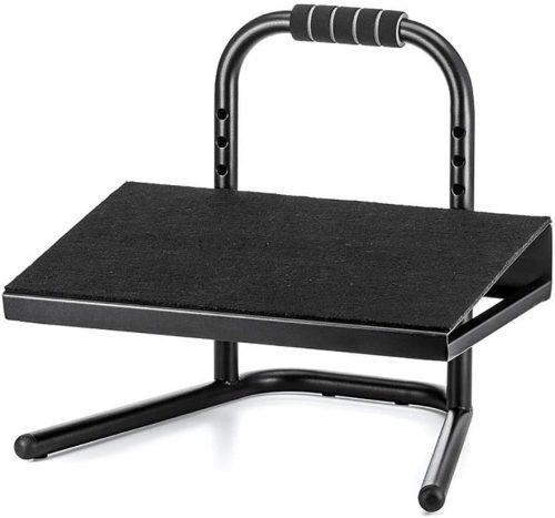 Under Desk Foot Rest, 6 Height Adjustable Office - Office Foot Rest