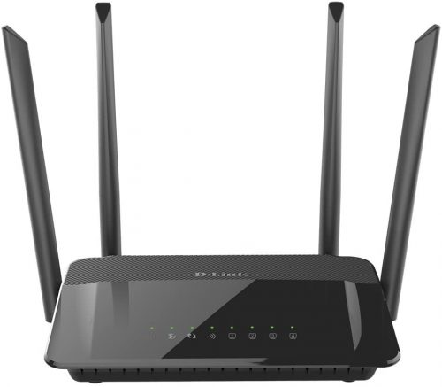 D-Link WiFi Router AC1200 Fast Ethernet Dual| USB Router