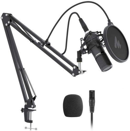 XLR Condenser Microphone Kit MAONO  | Microphone For Recording Vocals On Computer