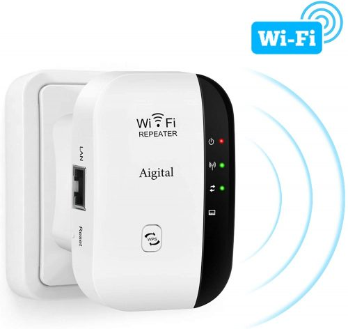 Aigital WiFi Extender Range Repeater 300Mbps | WiFi Repeater