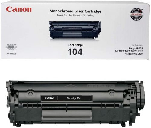 Canon Genuine Toner, Cartridge 104 Black | Toner Cartridge