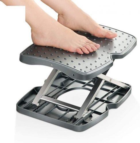LXHSY Adjustable Height Ergonomic - Desk Foot Rest