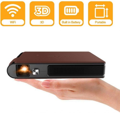 2020 Mini Pocket Wifi Projector 3D DLP 3600 Lumens - Pocket Wifi