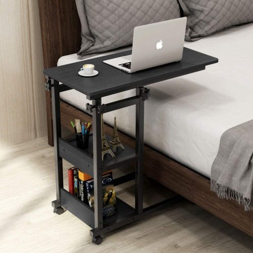 Tribesigns Snack Side Table, Mobile End Table - Laptop Table For Couch