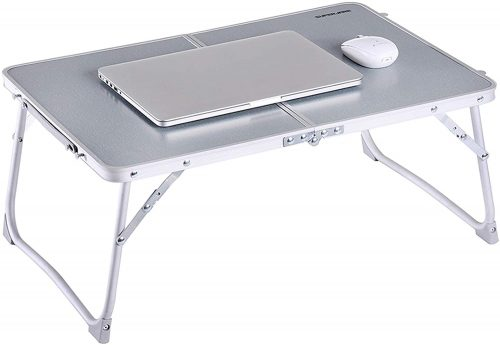 Foldable Laptop Table, Superjare - Laptop Table For Bed