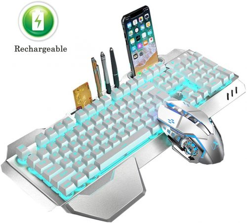Rechargeable - Wireless Gaming Keyboard & Mouse