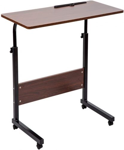 SIDUCAL Tray Table, Adjustable Sofa Side - Portable Laptop Desk