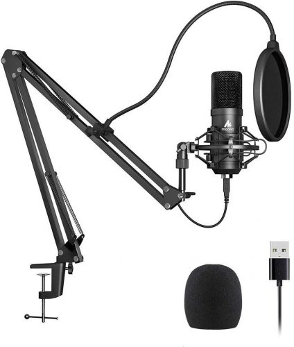 USB Microphone Kit 192KHZ/24BIT Plug & Play MAONO  | Microphone For Recording Vocals On Computer