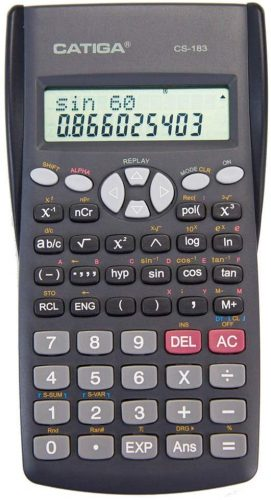 CATIGA CS-183 2-Line LCD Display - Scientific Calculator