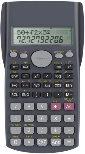 Helect 2-Line Engineering- Scientific Calculator
