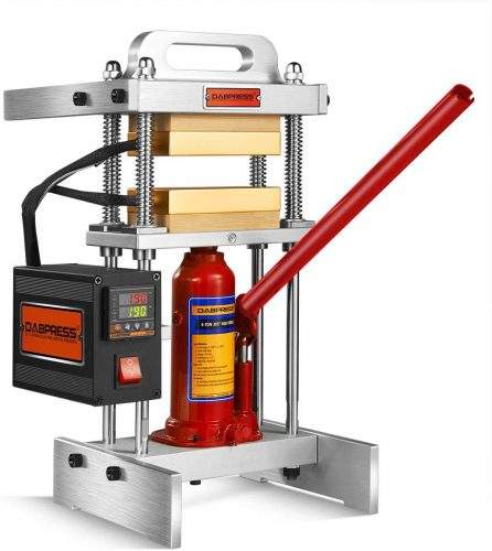 "4 Ton Heat Press Machine with Dual 3x5"" Heated Plates"