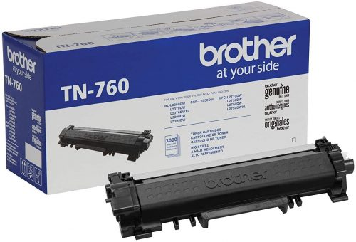 Brother Genuine Cartridge TN760 High Yield Black | Toner Cartridge