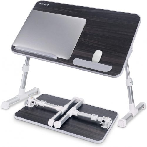 Laptop Bed Tray Table, Nearpow Adjustable- Laptop Table For Bed