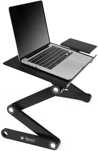 Executive Office Solutions Portable Adjustable Aluminum - Laptop Table Stand