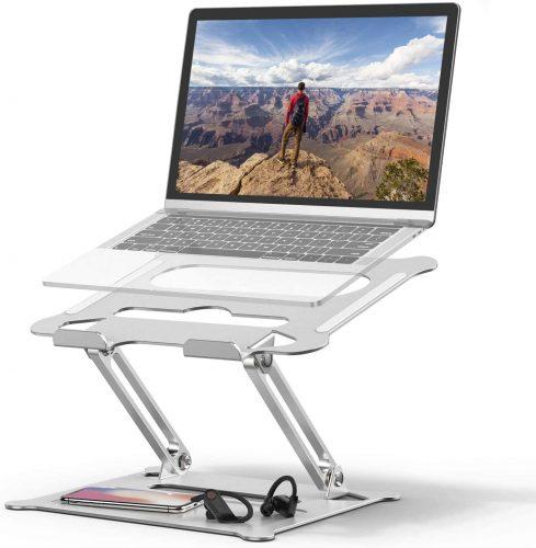 Laptop Stand Holder, Ergonomic Adjustable Notebook- Laptop Stand For Bed