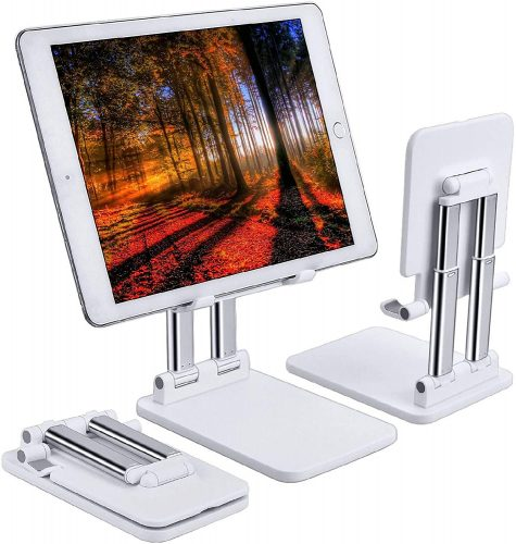Rosa Schleife Foldable- Tablet Stand