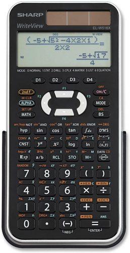 Sharp EL-W516XBSL 556 - Scientific Calculator
