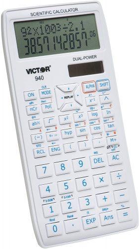 Victor 940 10-Digit Advanced- Scientific Calculator