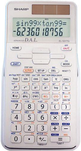 Sharp EL-531TGBDW 12-Digit Scientific - Scientific Calculator