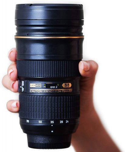 I am Mug Nikon 24-70mm Inspired Camera Lens Coffee- Unique Coffee Mug