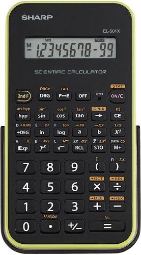Sharp EL-501XBGR- Scientific Calculator