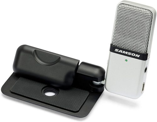 Samson Go Mic Portable USB Condenser | Microphone For Recording Vocals On Computer