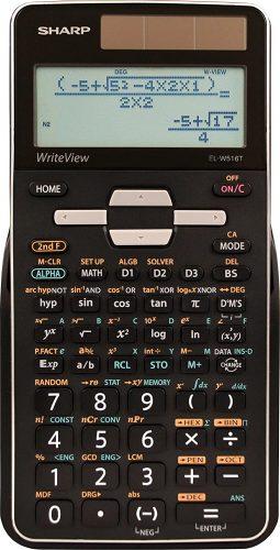 Sharp EL-W516TBSL 16-Digit Advanced- Scientific Calculator