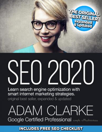 SEO 2020 by Adam Clarke - SEO books