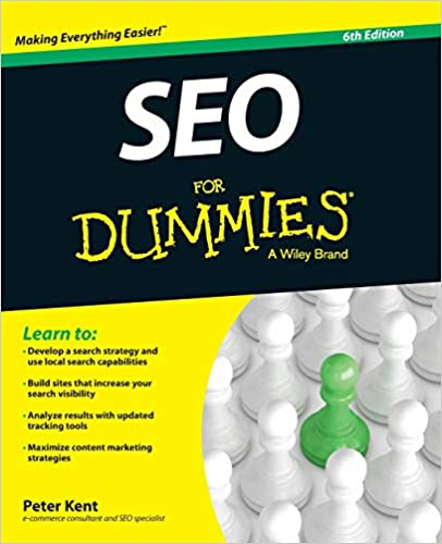 SEO For Dummies 2020 by Peter Kent - SEO books