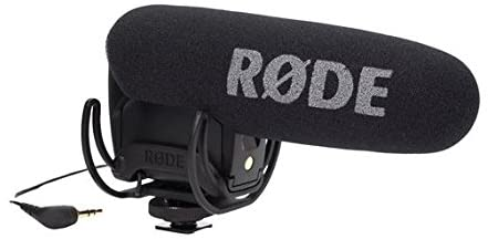Rode VideoMicPro Compact Directional On-Camera Microphone| Directional Microphone